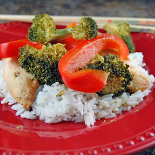"""Chicken and Broccoli """"Stir Fry"""" in the Slow Cooker."""