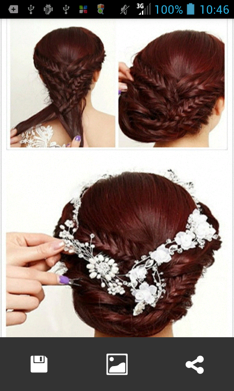 Peachy Bridal Hairstyles Step Android Apps On Google Play Short Hairstyles Gunalazisus