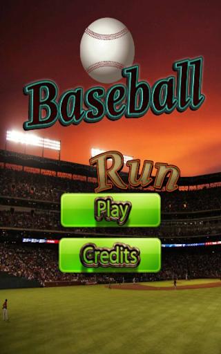 Baseball Run - Baseball Game