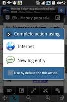 Screenshot of Opencaching QuickFind