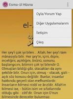 Screenshot of Esma-ül Hüsna (Sesli)