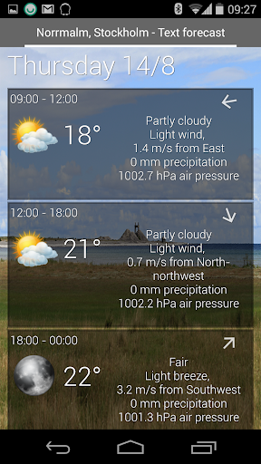 Weather View - The Weather app  screenshots 4