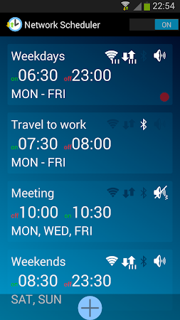 Network Scheduler Wifi 3G BT 1.6 screenshot 1353627