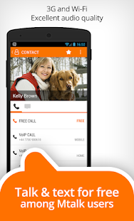 Mtalk: landline in your pocket- screenshot thumbnail