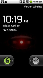The Droid Eye Live Wallpaper - screenshot thumbnail