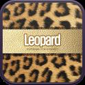 Gold Leopard go launcher theme icon