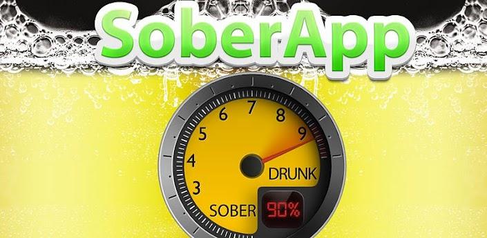 SoberApp - калькулятор выпитого алкоголя для Андроид