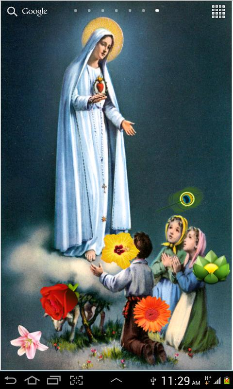 Download Virgin Mary HD LWP Apk