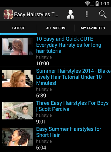 Easy Hairstyles Tutorial