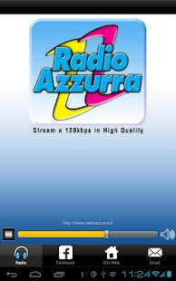 Radio Azzurra HQ- screenshot thumbnail