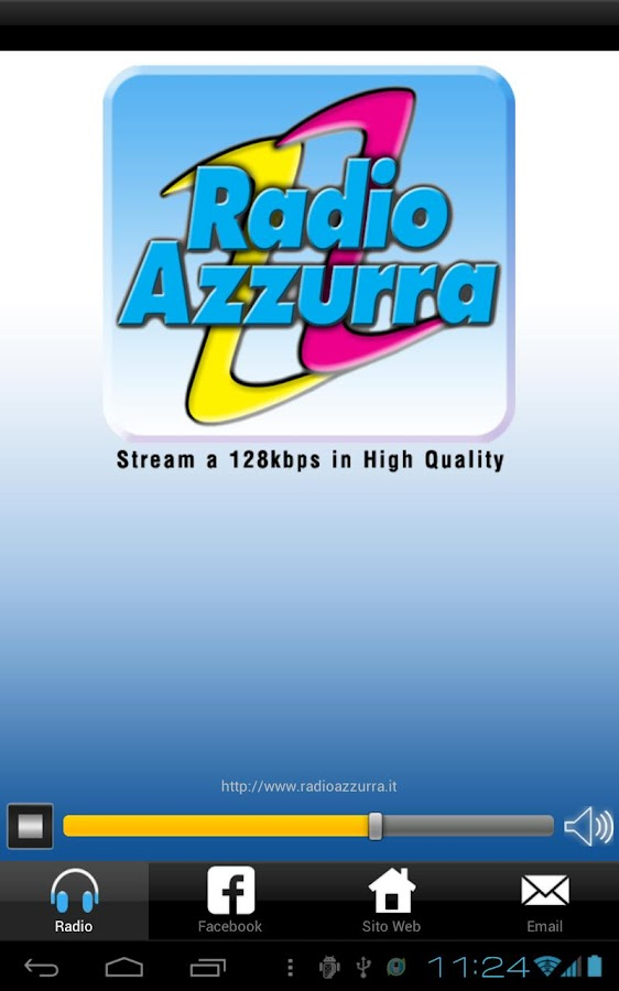 Radio Azzurra HQ- screenshot
