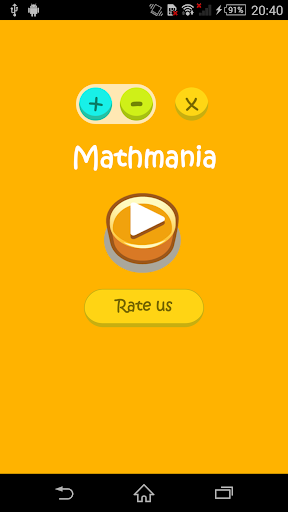 Mathmania - Math game
