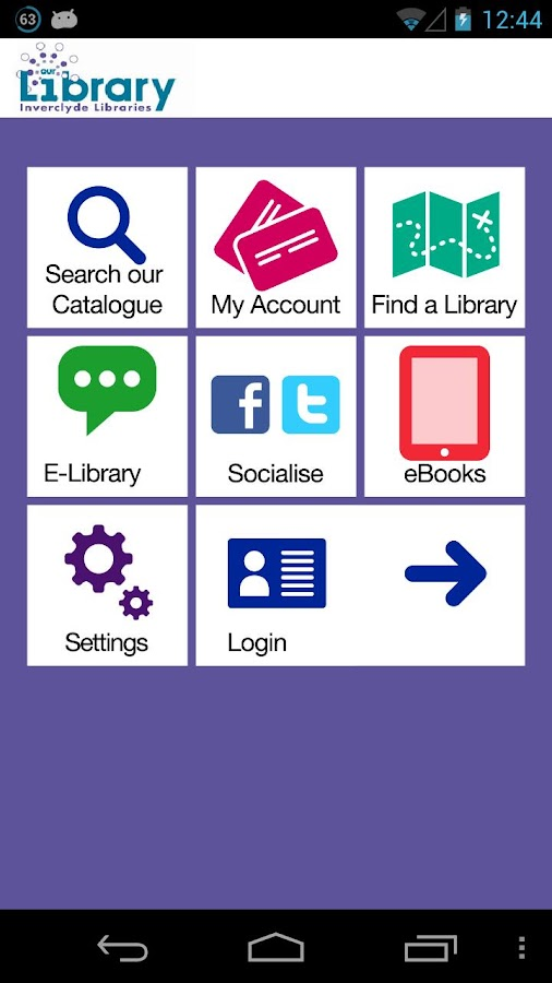 Inverclyde Libraries- screenshot
