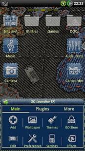 Denim GO Launcher Theme- screenshot thumbnail