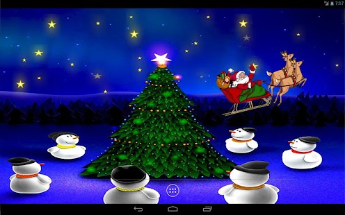Christmas Night Live Wallpaper- screenshot thumbnail