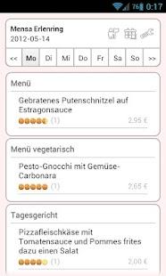 Mensa Marburg- screenshot thumbnail