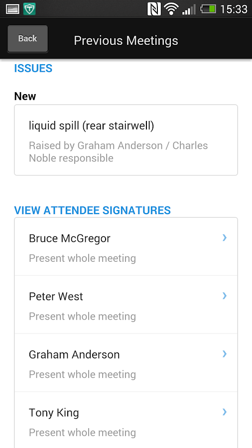 UIG Toolbox Meetings- screenshot