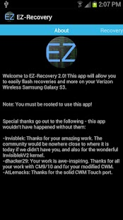 EZ-Recovery for VZW Galaxy S3 - screenshot thumbnail