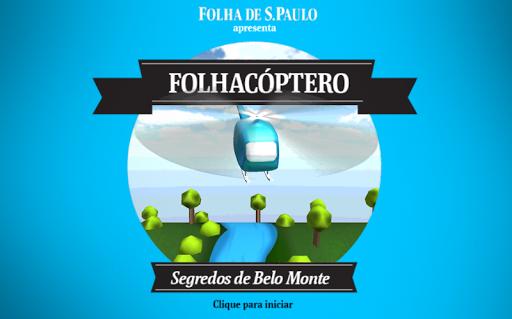 Folhacóptero em Belo Monte