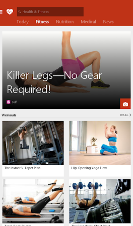 MSN Health & Fitness- Workouts 1.2.0 screenshot 18583