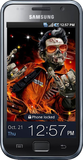 I Love Zombies live wallpaper