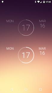 onca Clock Widget - screenshot thumbnail
