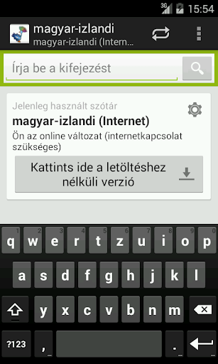 Hungarian-Icelandic Dictionary