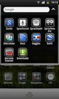 Screenshot of Plate Theme 4 GO Launcher EX