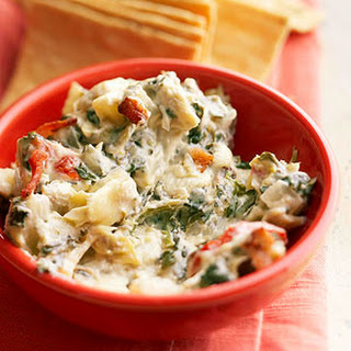 Spinach-Artichoke Dip with Blue Cheese and Bacon Recipe