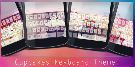 Cupcakes Keyboard Theme
