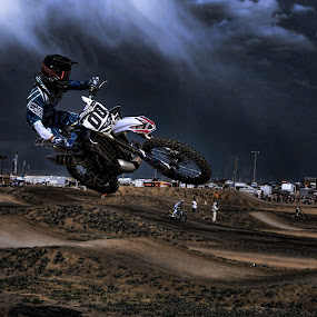 Storm Chaser by Richard Caverly - Sports & Fitness Motorsports
