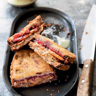 Deep-Fried Peanut Butter and Jelly Sandwiches.