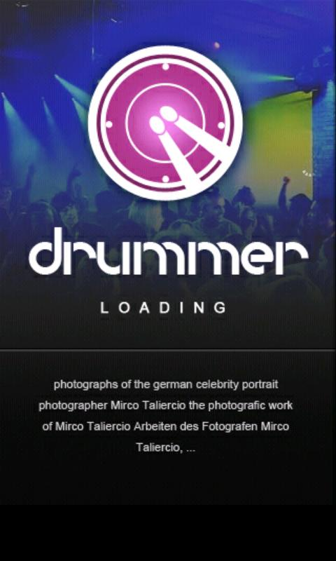 Drummer Multi touch- screenshot