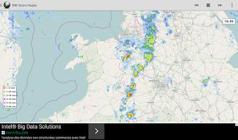 Screenshot of Netweather Storm Radar