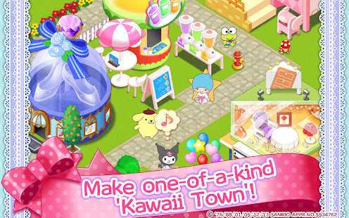 Hello Kitty Kawaii Town APK baixar