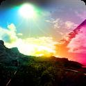 3D Rainbow Light icon