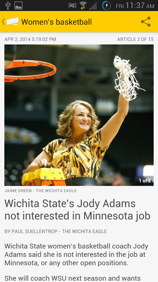 Shockwaves by Wichita Eagle - screenshot
