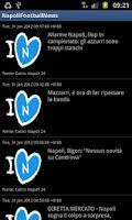 Screenshot of Napoli Football News