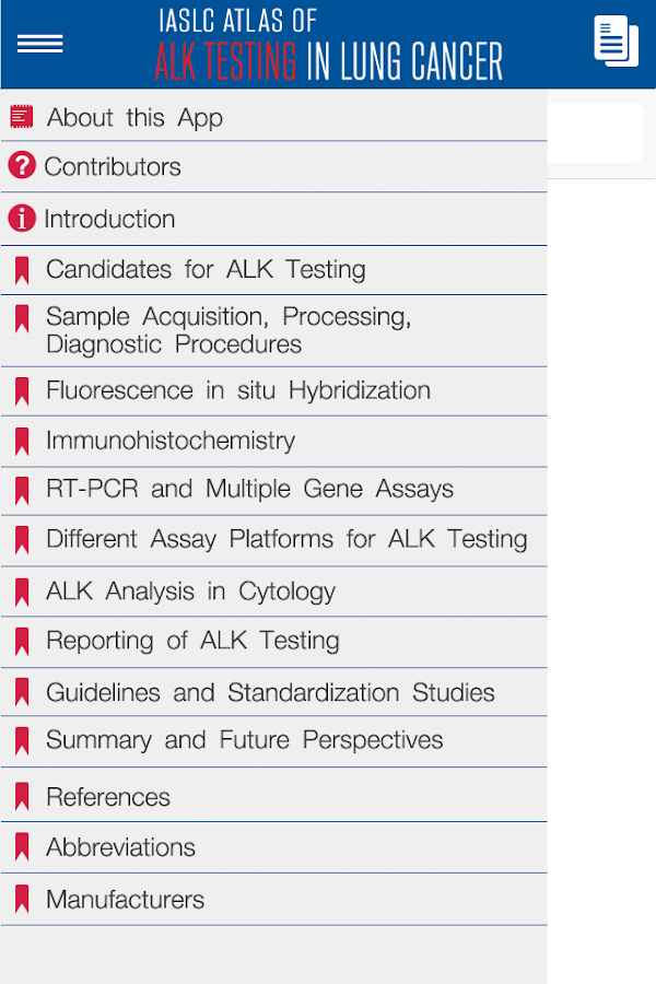 IASLC Atlas of ALK Testing- screenshot