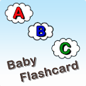 Baby flash card – Letters logo