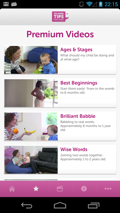 Talking Tips For Kids - screenshot