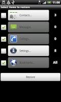 Screenshot of Easy Backup
