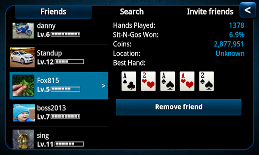 Poker KinG Blue-Texas Holdem - screenshot thumbnail