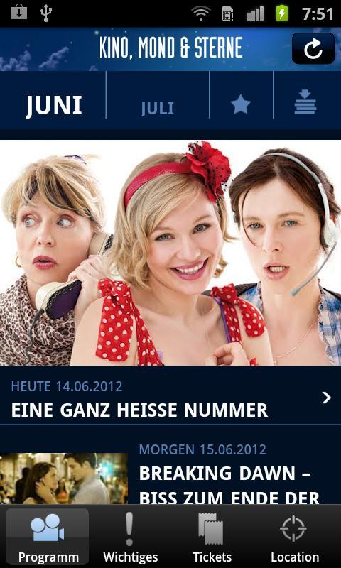 Kino, Mond & Sterne- screenshot