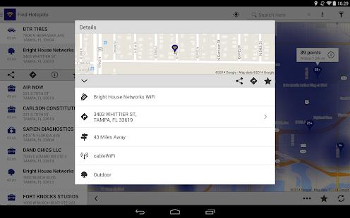 BHN WiFi Finder - screenshot thumbnail
