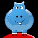 Bouncing Hippos icon