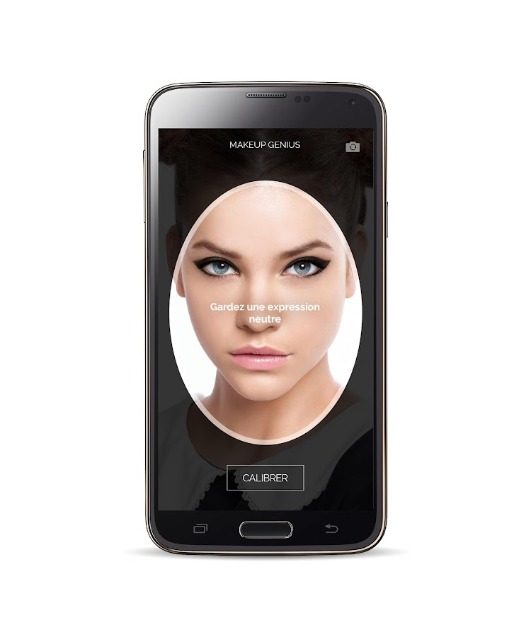 Makeup genius applications android sur google play for Miroir application android