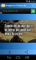 Screenshot of Imagenes Frases de Despedida