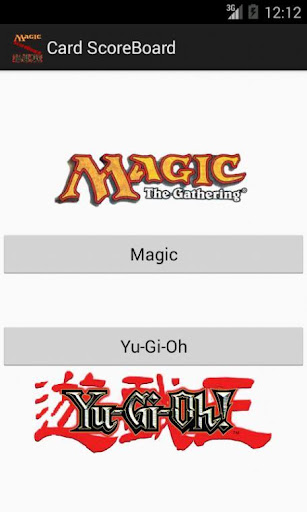 Magic YuGiOh ScoreBoard
