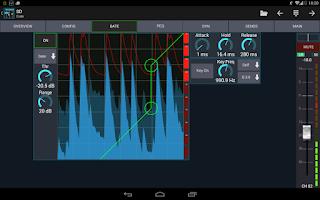 Screenshot of Mixing Station XM32